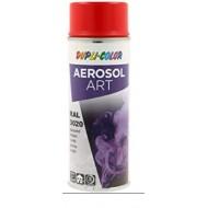 AÉROSOL ART RAL 3020 ROUGE TRAFIC DUPLI-COLOR