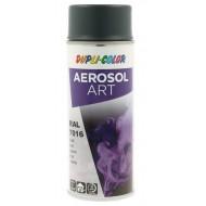 AÉROSOL ART RAL 7016 GRIS ANTHRACITE DUPLI-COLOR