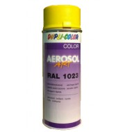 AÉROSOL ART RAL 1023 JAUNE TRAFIC DUPLI-COLOR
