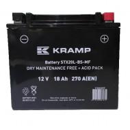 BATTERIE MOTO STX20L-BS-MF KRAMP