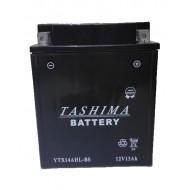 BATTERIE MOTO YTX14AHL-BS TASHIMA
